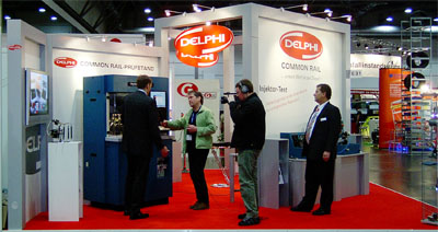 Delphi demonstrates hartridge products