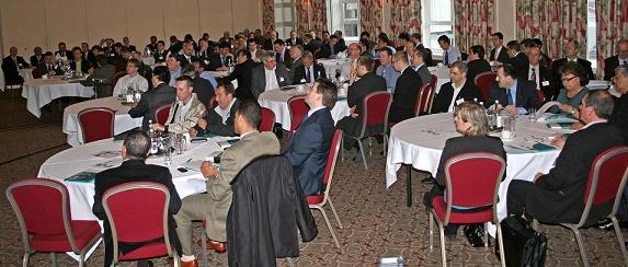 Group photo at the distributor event 2009, in Windsor