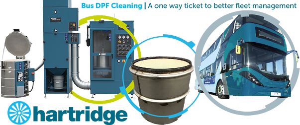 Bus DPF cleaning