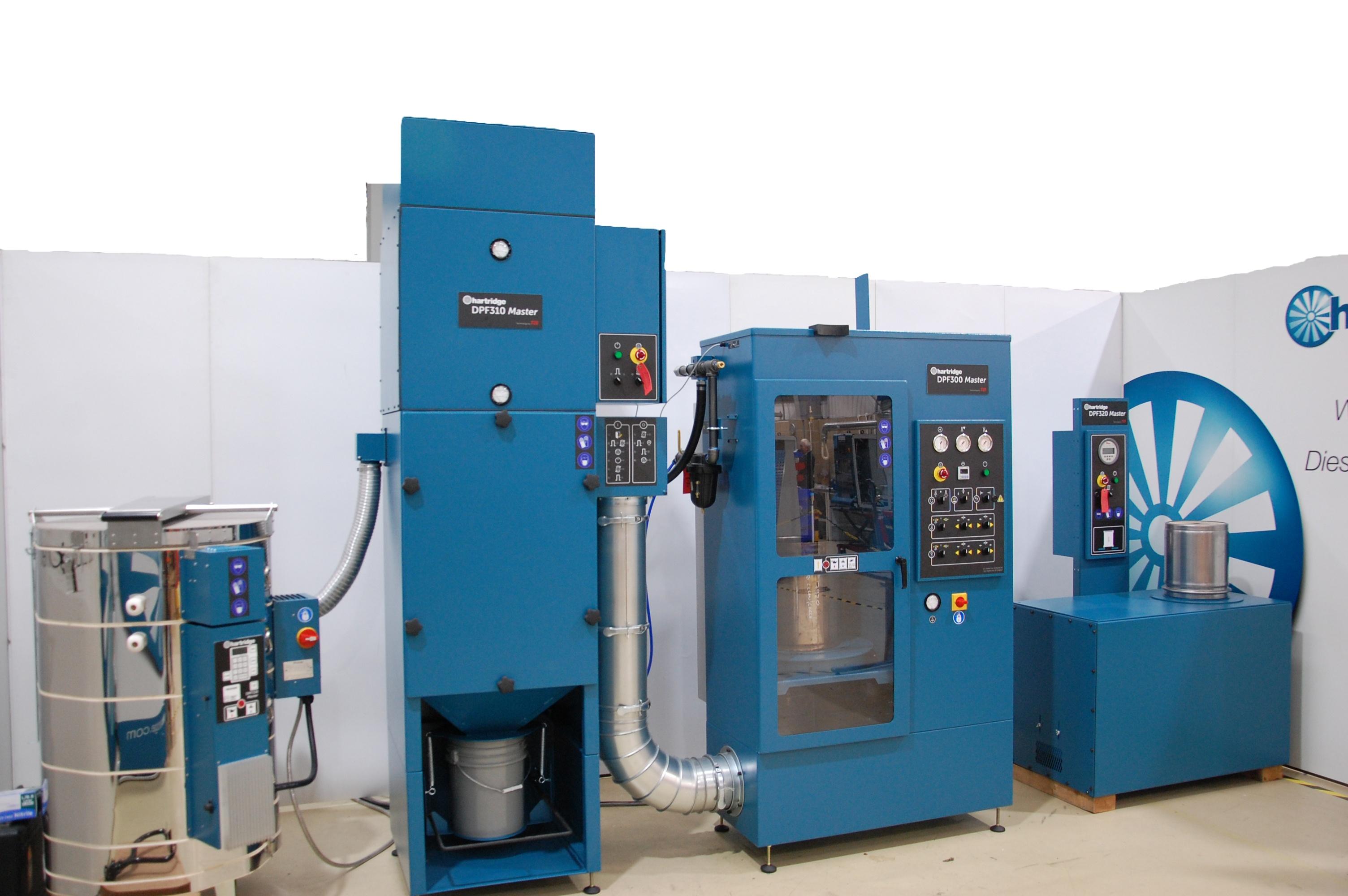 DPF 300 master series machine set