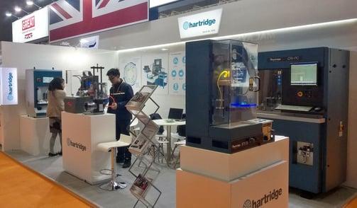 Hartridge stand at Automechanika Shanghai 2016