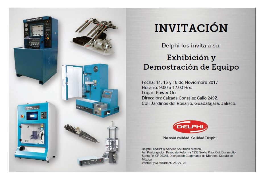 Invitacion Expo Transporte