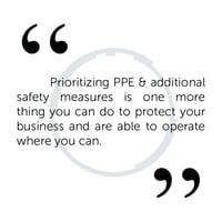 Prioritising PPE