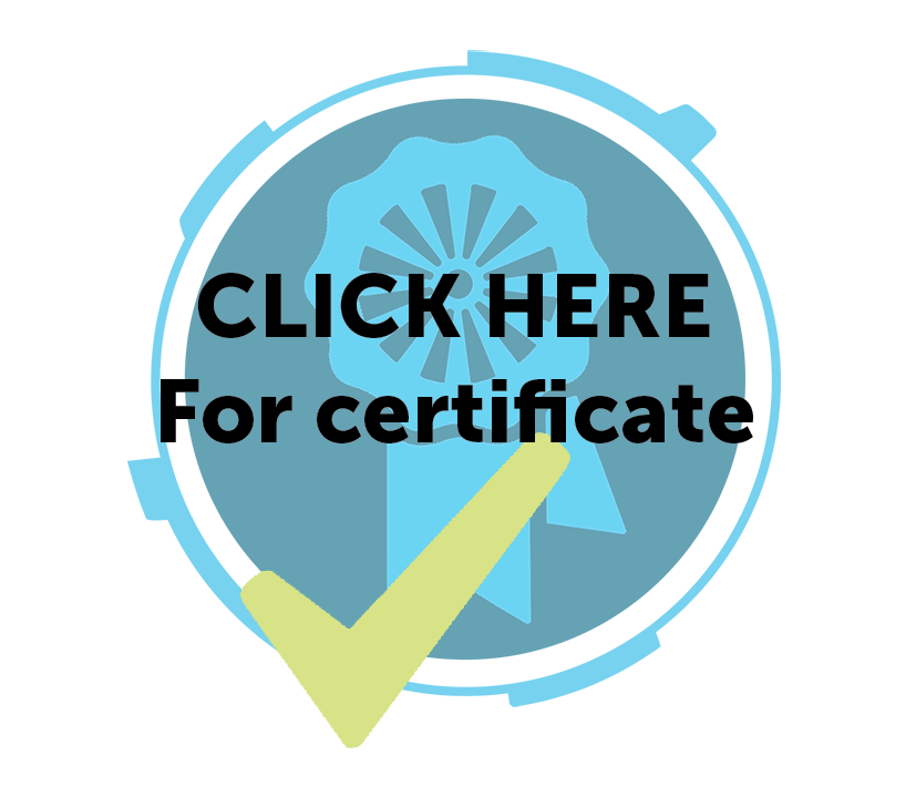 Click here for Hartridge certificate