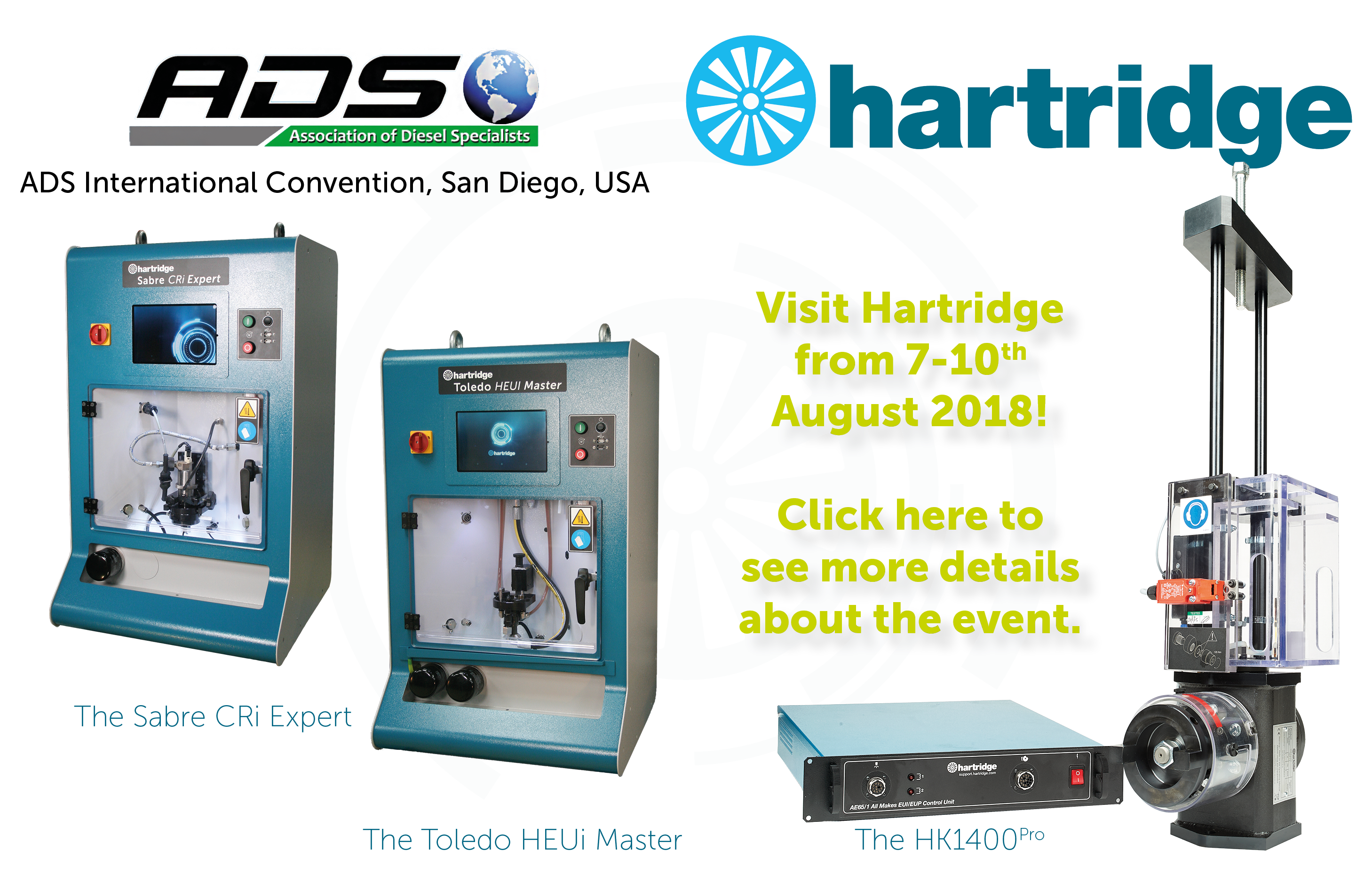 Hartridge at ADS 2018
